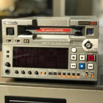 Rent Panasonic AJ-HD1400 Compact DVCPRO HD VTR