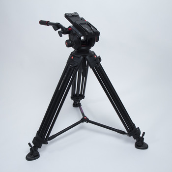 Rent Manfrotto 504HD Tripod with Spreader