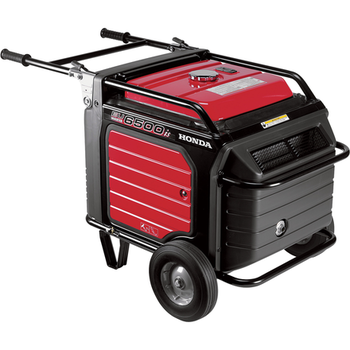 Rent Honda EU6500is 6500W Generator