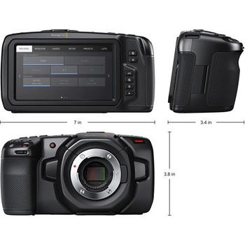 Rent *Just released* Blackmagic Pocket Cinema Camera 4K
