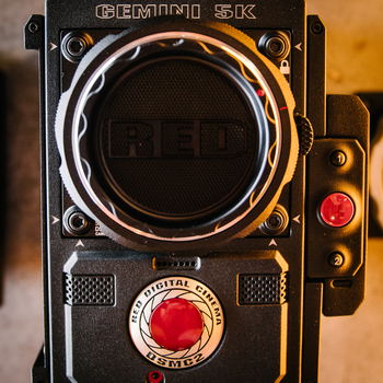 Rent Red Epic Gemini with Tilta Rig.