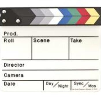 Rent Slate board and clapper