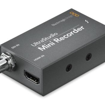 Rent Blackmagic Design UltraStudio Mini Recorder with Thunderbolt Cable