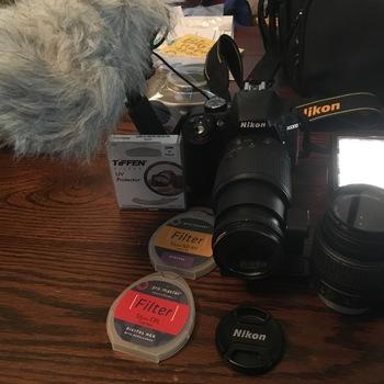 Rent Nikon D 3300 HD Camera Kit 2 Lens pkg