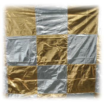Rent 8X8 Silver/Gold Checker