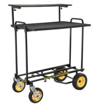 Rent Rock N Roller R11G Cart with 2 Tier Media Shelf