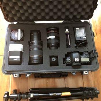 Rent Canon 5D Mark IV + 3 Zoom Lenses PHOTO BUNDLE / KIT