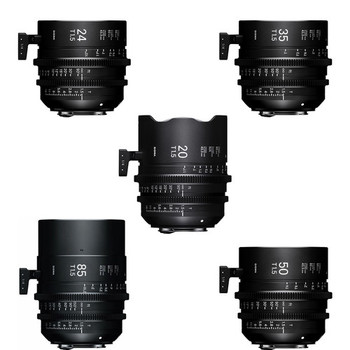 Rent Sigma 5 lens Kit