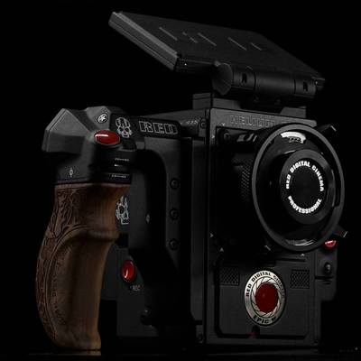 Red epic w gdu wooden handle