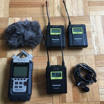 Rent Zoom H4N Pro and Wireless Saramonic Lav (2) Kit