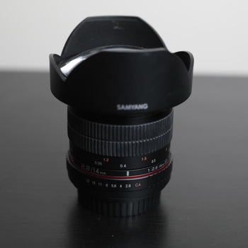 Rent Samyang (rokinon) 14mm 2.8 Cine Lens