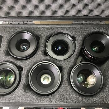 Rent Canon CN-E Cinema Prime Lens Set