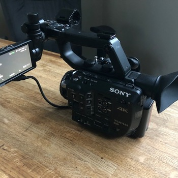 Rent Sony FS5 Kit with Canon Lens and Shotgun Mic