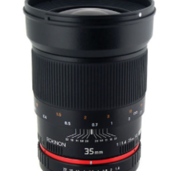 Rent Rokinon 35 mm
