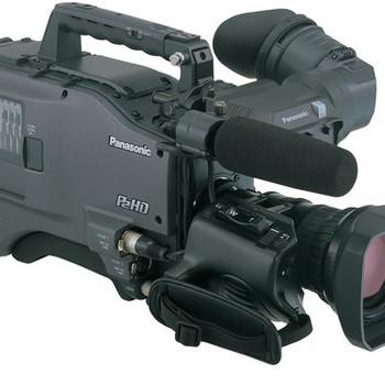 Rent Panasonic HPX-500 w Canon 21x w 2X Extender, 2 Anton Bauer Bricks, Power Supply