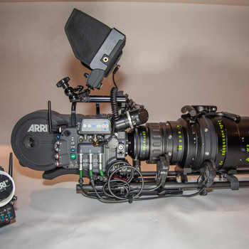 Rent ARRI 416 Plus with ARRI/Zeiss Master Zoom Lens Production Package