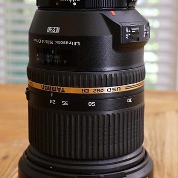 Rent Tamron 24-70 F2.8 Canon EF Mount Lens