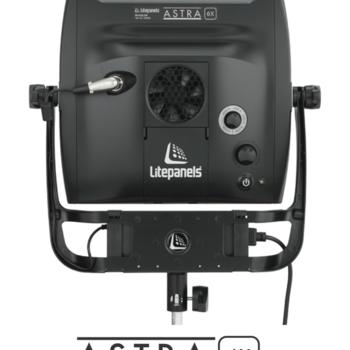 Rent Litepanels Astra 6X Bi-Color 1x1 LED Panel with 2 V-Mount Batteries One (1) Light Kit