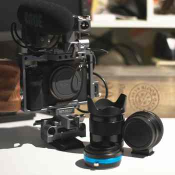 Rent Sony a7Sii with Metabones for Canon EF and  Photodiox Nikon G adapter, Tilta Camera Cage