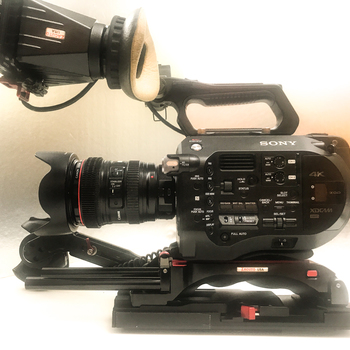 Rent FS7 camera kit with 24-105mm lens available (les)
