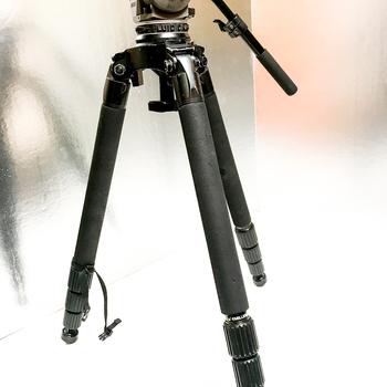 Rent Cartoni Focus fluidhead with Miller Solo carbon fiber tripod legs