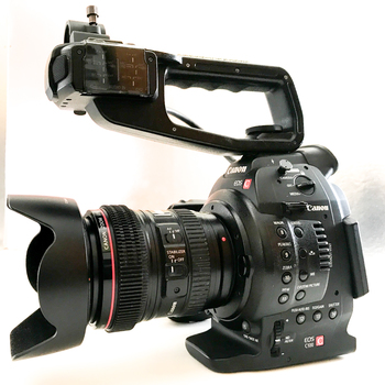Rent C100 with 24-105mm lens available (LES)