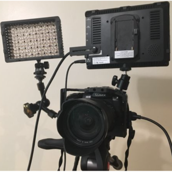 Rent Panasonic Lumix GH5 Package with Metabones, EF lenses, monitor, RODE and more
