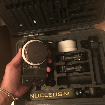Rent Brand New Tilta Nucleus -M with batts, charger, and all cables!