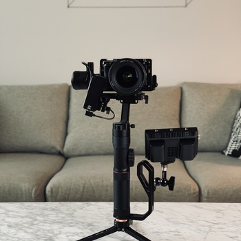Rent Zhiyun crane 2 with follow focus, Sony A6300, Canon 16 - 35mm L series lens