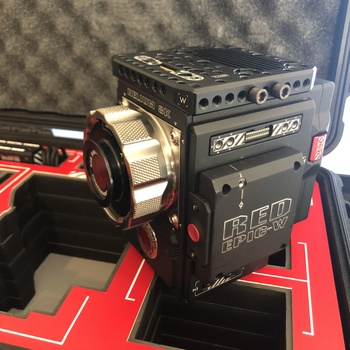 Rent Red EPIC-W Helium 8K S35 kit with PL mount in Jason Case- All you need now is a tripod!