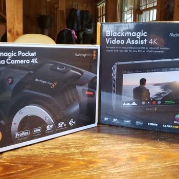 Rent Blackmagic Pocket 4K and Video Assist