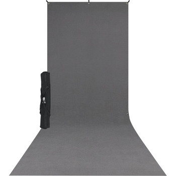 Rent Westcott X-Drop (5 x 12') Backdrop Seamless Fabric - Gray, Black or White