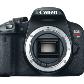 Rent Canon  Rebel T4i that comes with Kit 18-55mm lens