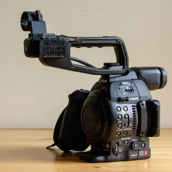 Rent Canon EOS C100 Mark II Body with SD Cards and Batteries