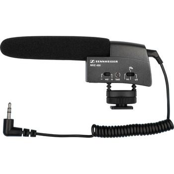 Rent Sennheiser MKE 400 On-Camera Shotgun Microphone Mic