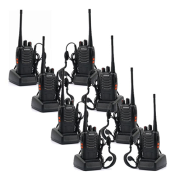 Rent Baofeng Walkie Talkies Bundle (8)