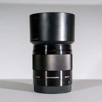 Rent Sony E 50mm f/1.8 OSS Lens (Black)