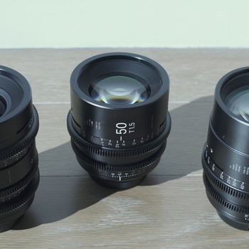 Rent Sigma Cine FF High Speed Primes 3 Lens Kit (18-35, 50, 85)