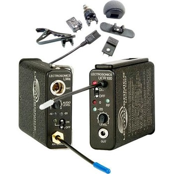 Rent Lectrosonics UCR100 Transmitter and Receiver Lav Set