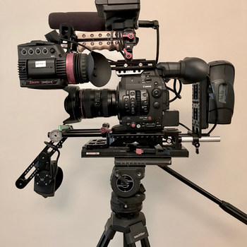 Rent Full C300MII Package with Lenses, Cards, Shoulder Mount, Gratical, Tripod, Etc