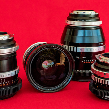 Rent  Zeiss Jena Medium Format Prime Lens Set of 4 - Digital Cinema / Stills  - Vintage Glass from the 1970's