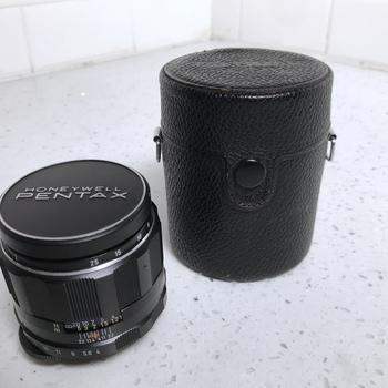 Rent Pentax Macro-Takumar 50mm f/4.0 Prime Lens with EF Mount Adapter