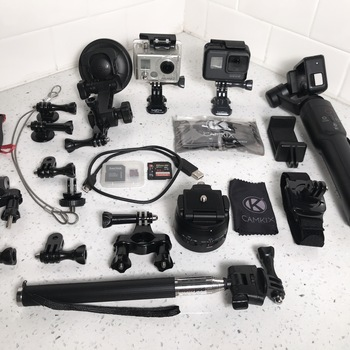 Rent GoPro Hero 5 Black Kit w/ Gimbal & Motorized Pan Head