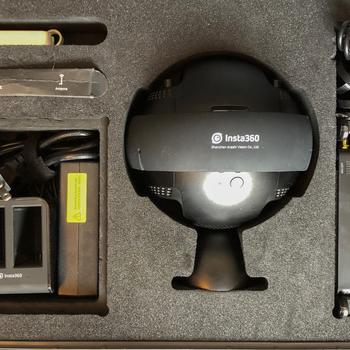 Rent Insta360 Pro 2 with FarSight 8k 360 Degree Virtual Reality Camera