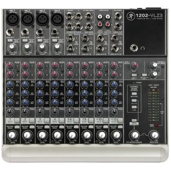 Rent Mackie 1202 VLZ3 4 Mic/8 Line Board Mixer