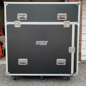 Rent Easy Lite 96 Sq Ft Portable Stage On Wheels!
