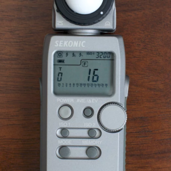 Rent Sekonic L-358 Flash Master Light Meter