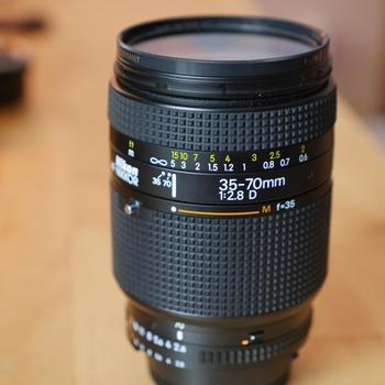 Rent Nikon D-series 4-lens kit