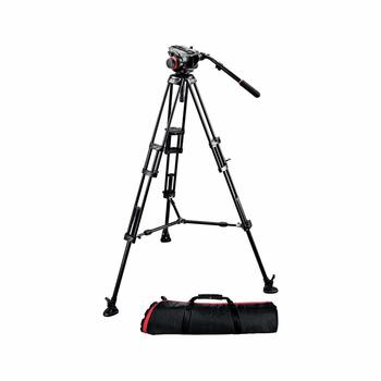 Rent Manfrotto 546BK Video Tripod with 504HD Head & Carrying Bag