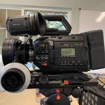 Rent URSA Mini Pro 4.6K EF/PL Camera w/Zeiss CP2 Super Speed Lenses